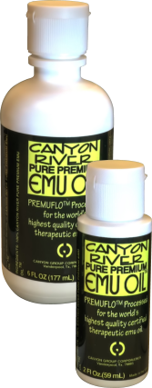 Canyon River Pure Premium Emu Oil